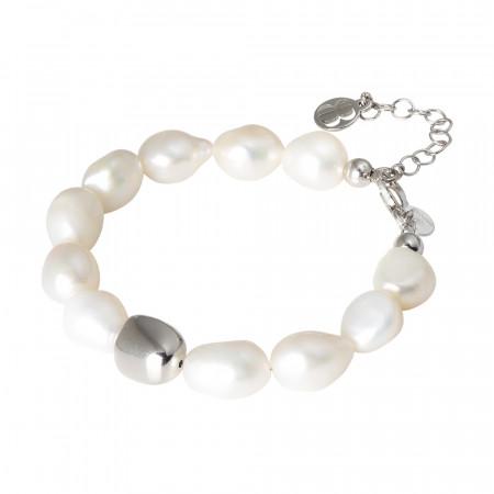 Bracciale con perle naturali scaramazze