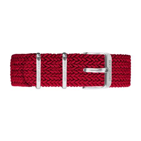 Cinturino in nylon Perlon rosso