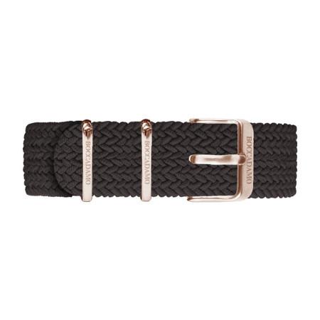 Cinturino in nylon Perlon marrone