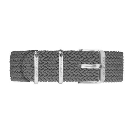Cinturino in nylon Perlon antracite