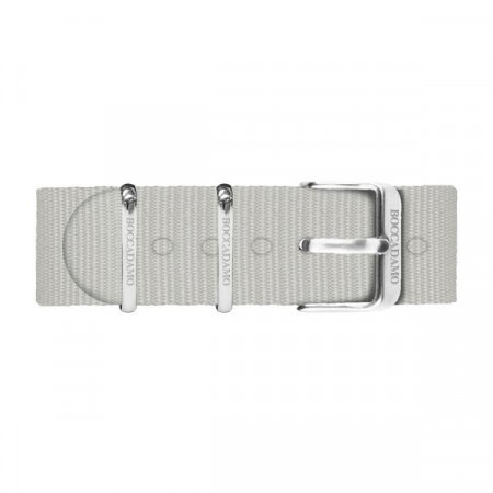 Cinturino in nylon grigio