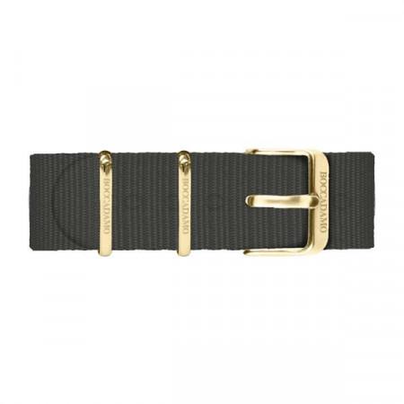 Cinturino in nylon nero