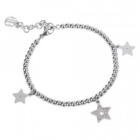Bracciale bead con charm a forma di stella
