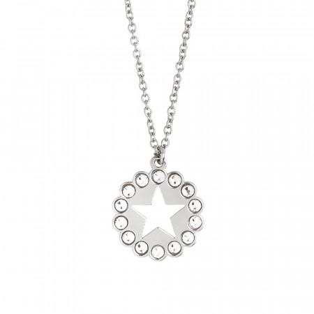 Collana con stella e Swarovski
