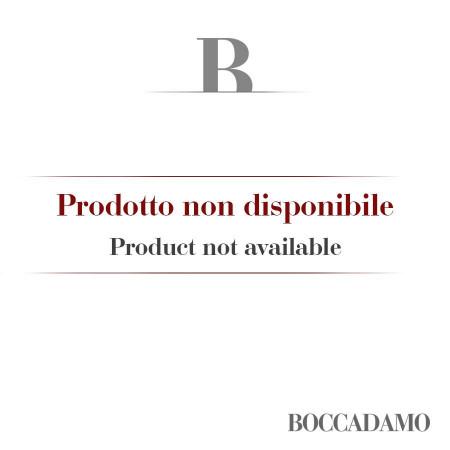 Bracciale in gomma rosso con perla Swarovski gialla fluo, Special Edition LC&G