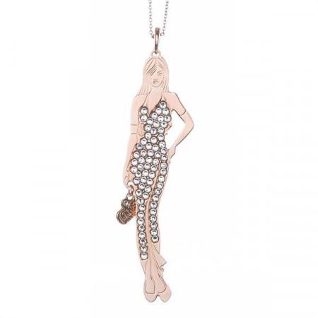 Collana bambolina con outfit crystal