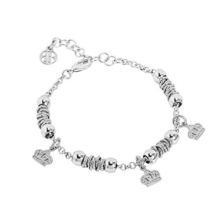 Bracciale beads con corone zirconate