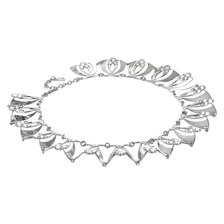 Collana semirigida con cristalli Swarovski crystal