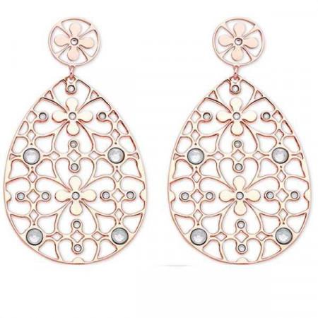 Orecchini in bronzo e cristalli Swarovski crystal