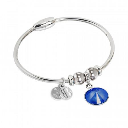 Bracciale con cristallo Swarovski crystal royal blu