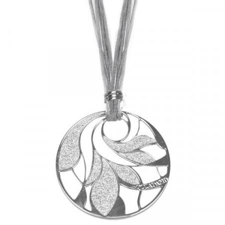 Collana in lamè e bronzo