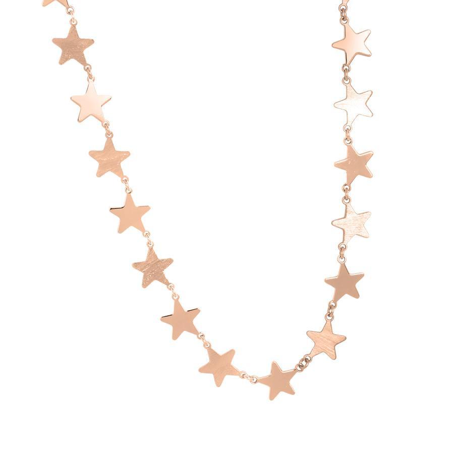 incontrare 2aad6 70882 Collana rosata con stelle
