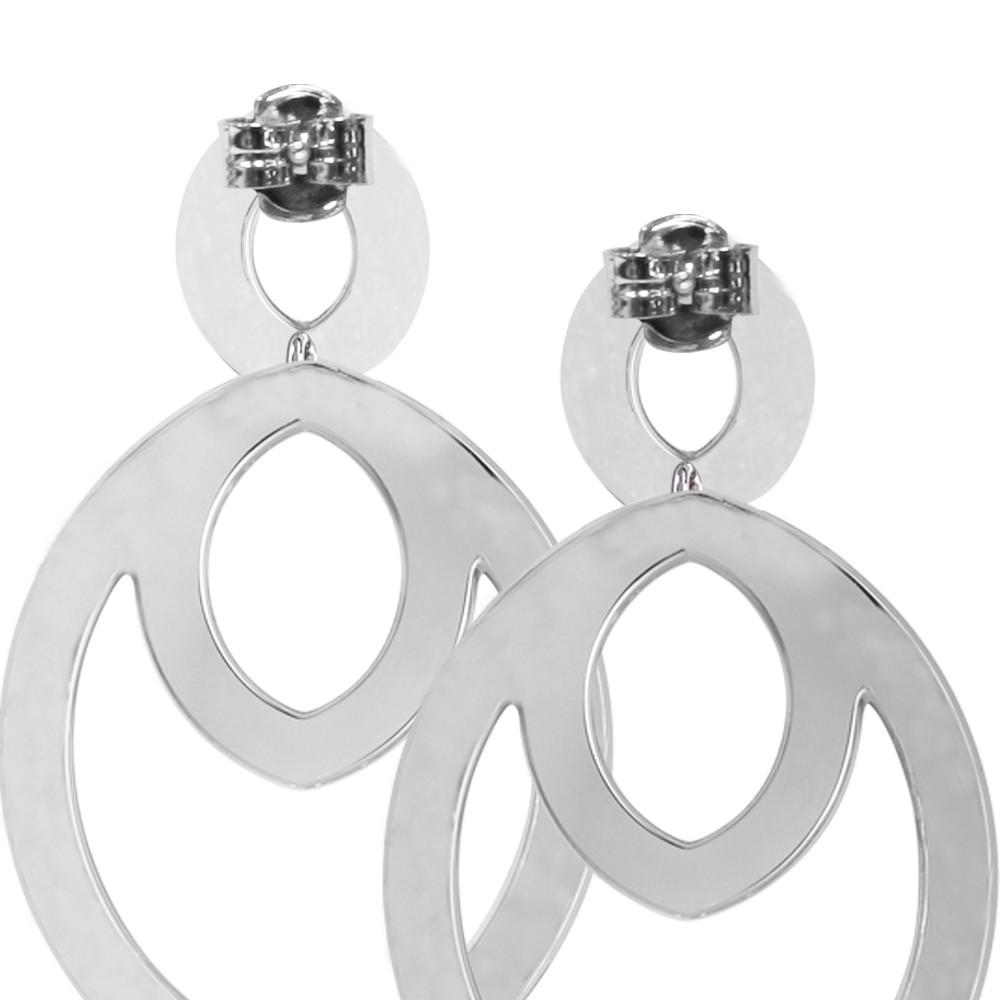 513d91a55cc9e5 Orecchini pendenti con navette e cristalli Swarovski
