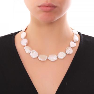 Collana con perle keshi