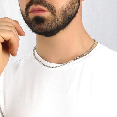 Collana maglia corda piccola