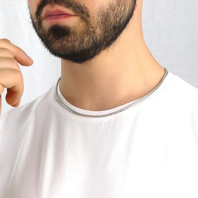 Collana coda di volpe media