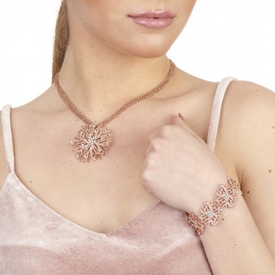 Bracciale modulare e Swarovski crystal