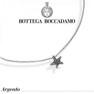 Collana con stella marina pendente
