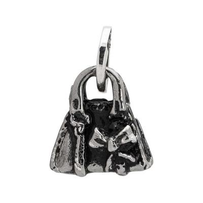 Charm con borsa decorata da un fiocco