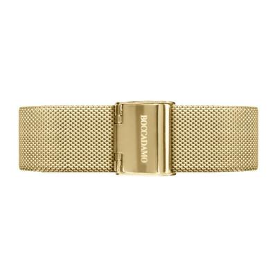 Cinturino in acciaio maglia Milano dorata
