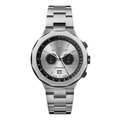 Orologio cronografo con quadrante satinato