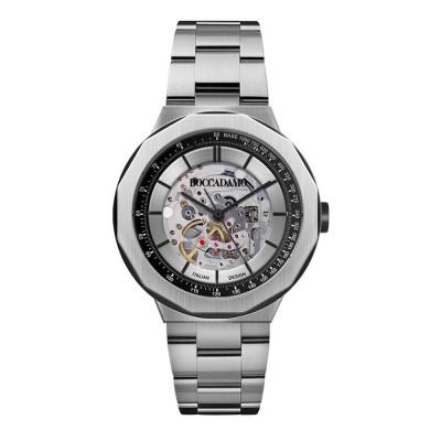 Orologio automatico con quadrante e fondello a vista