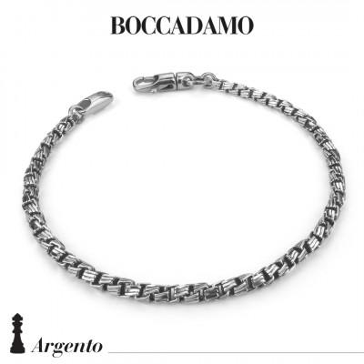 Bracciale maglia veneziana diamantata piccola