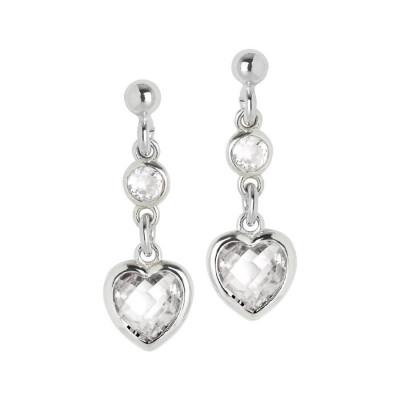 Orecchini in argento con zirconi crystal