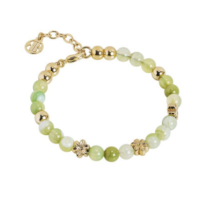 Bracciale con Swarovski ed agata light yellow