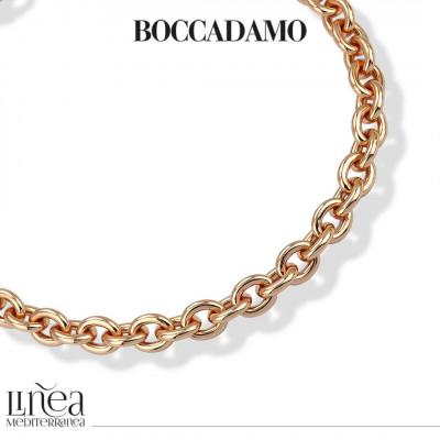 Collana forzatina piccola in bronzo rosa