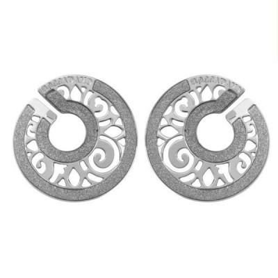 Orecchini in bronzo a spirale