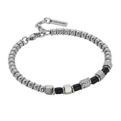 Bracciale beads con pvd nero