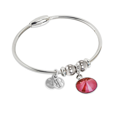 Bracciale con cristallo Swarovski crystal royal red
