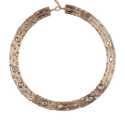 Collana semirigida con Swarovski crystal