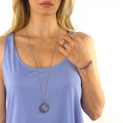 Collana con pendente decorato da stelle marine