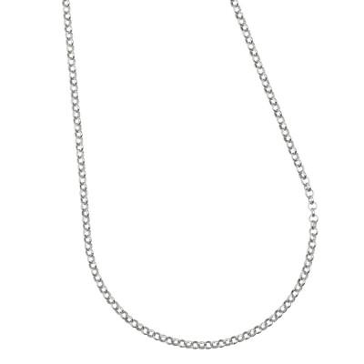 Collana in argento per charms scorrevoli.