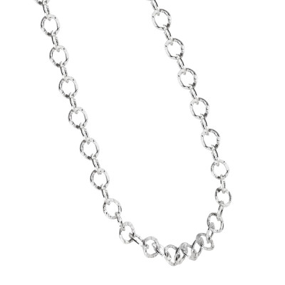 Collana in argento per charms da aggancio