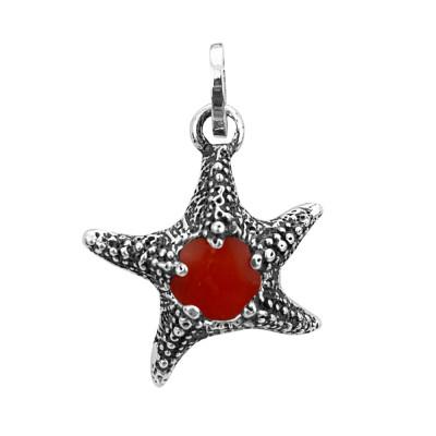 Charm stella marina rossa