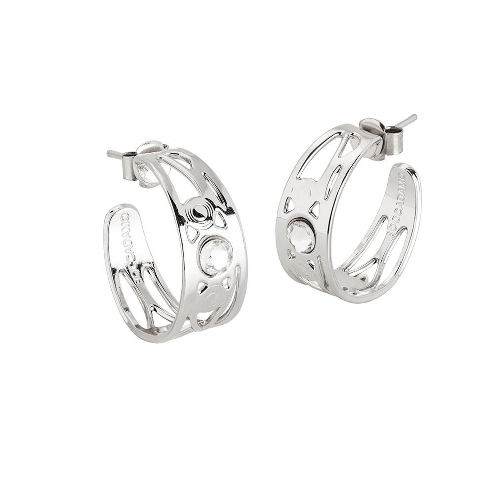 3c2220512 Earrings half moon with Swarovski - Products