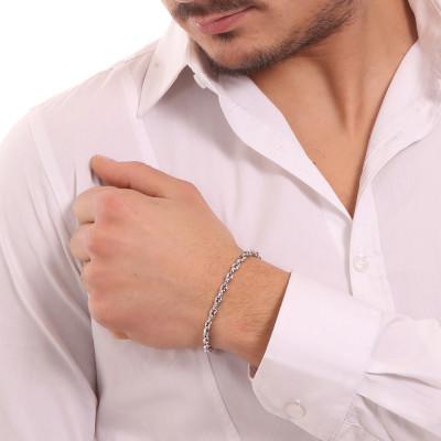 Large marine link bracelet