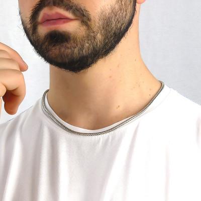Large foxtail necklace
