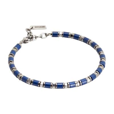 Bracelet with blue ceramic