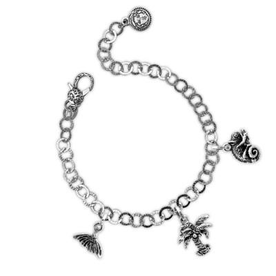 Tropical theme modular bracelet