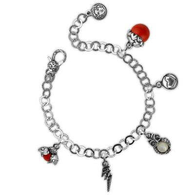 Passion theme modular bracelet