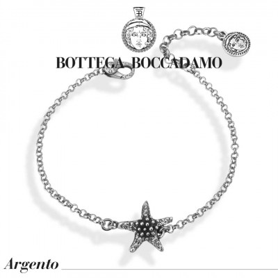Bracelet with central starfish