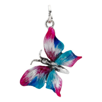 Charm with large butterfly