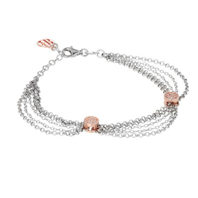 Multiwire Bracelet with zircons