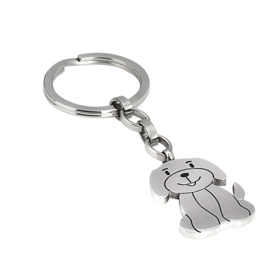 Keychain with puppy dog