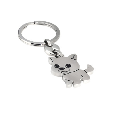 Keychain with kitten