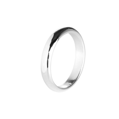 Classic faith in silver with glossy surface